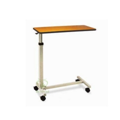 MY-R083A Hospital Adjustable Height Overbed food Table with wheels for patients