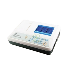 MY-H005C medical Portable and delicate design 3 Channel Color Display ECG