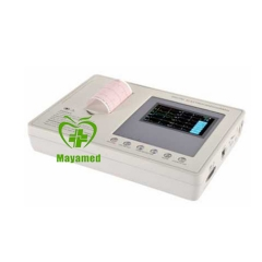 MY-H004B portable 4.3 inch color screen ECG machine(3 channel)