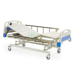 MY-R002B Medical Four-functions super low electric hospital bed