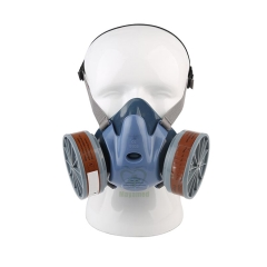 MY-L063A-5 Industrial Cozy and smooth half face safety gaz mask
