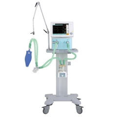 MY-E005D CE approved 12.1 inch TFT color touch screen trolley ICU medical ventilator price